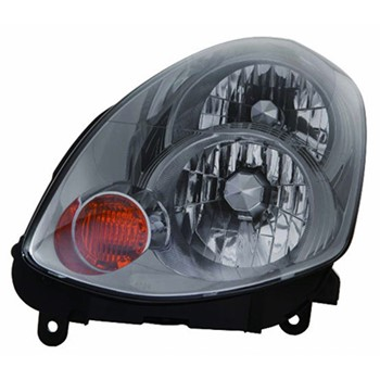 Aftermarket Economy Driver Headlamp Lens And Housing In2502122v