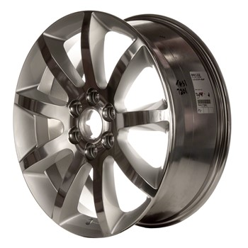 Compatible Reconditioned 20 X 75 9 Spokes Polished With Painted Window Aluminium Alloy Wheel Rim